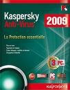 Kaspersky Internet Security 2009 Complete protection all in one (3 Users) 1 year license with free full technical sport from company