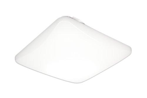 Lithonia Fmlsl 11 14840 M4 Square 11-Inch Led Flush Mount Light, White