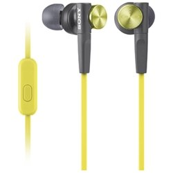 Sony Mdrxb50Ap/Y Mdr Xb50Ap - Headphones With Mic - In-Ear - Yellow