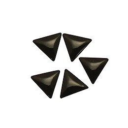 エムプティ B151 プレミアムスタッズ トライアングル 3×3mm 5個 ブラック