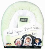 Jolly Jumper Head Hugger Baby Head Support 3 in 1 Pillow - Sage - 1