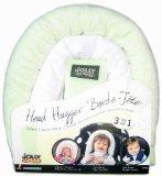 Jolly Jumper Head Hugger Baby Head Support 3 in 1 Pillow - Sage - 1
