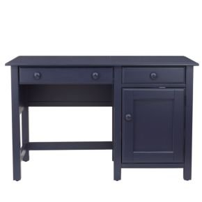 Cheap Kids Dressers: Kids Navy Blue Walden Desk & Hutch, Mb Walden Desk (B004KZMS0Q)