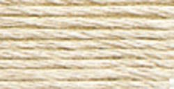 DMC Pearl Cotton Skeins Size 5 27.3 Yards Very Light Mocha Brown 115 5-3033; 12 Items/Order