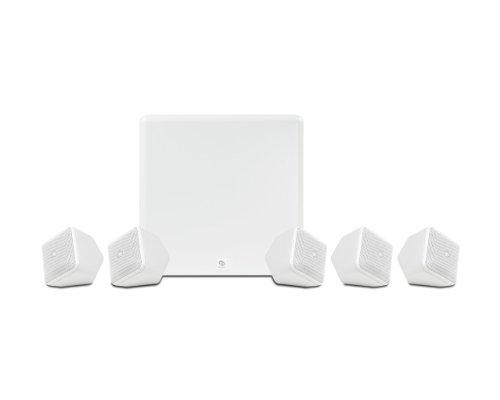 Boston Acoutics Soundware XS 5.1 Speaker Package - Glossy White Black Friday & Cyber Monday 2014