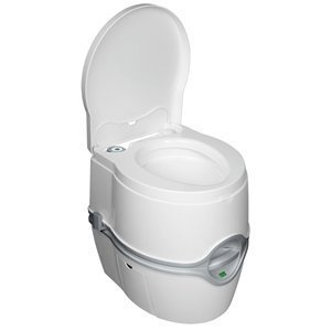 Thetford Porta Potti curve Battery Powered Electric Flush Portable Toilet