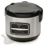 Presto 05813 16-Cup Digital Stainless Steel Rice Cooker/Steamer (Delta Rice Cooker compare prices)