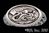 Asha'man Dragon Signet Ring - Wheel of Time