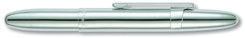Fisher Space Bullet Space Pen with Clip, Chrome, Gift Boxed (400CL)