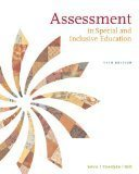 img - for Assessment: In Special and Inclusive Education 11th Edition by Salvia, John, Ysseldyke, James, Bolt, Sara [Paperback] book / textbook / text book