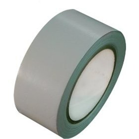 "Premium Vinyl Dance Floor Tape - 2"" Wide 108' Ft Long (36 Yards) - Light Gray - Used For Floor Seam, Gymnasium, Gym, Basketball Court, Mass Loaded Vinyl Seam, Safety, 5S, Aisle, Coding - Made In The Usa - Mlv Grey"