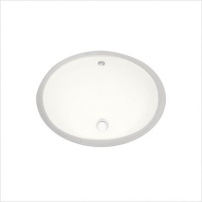 Oval Undercounter Bathroom Sink
