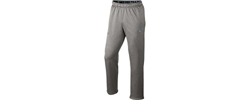Nike Men's Therma-Fit KO 3.0 Training Sweatpants-Dark Grey Heather-XL