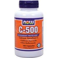 Now Foods, C-500 Ascorbate 100 Caps ( Multi-Pack)