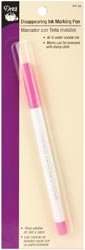 Dritz Disappearing Ink Marking Pen Pink 677-20; 3 Items/Order