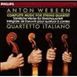 Webern -Intégrale Musique Quatuors Co