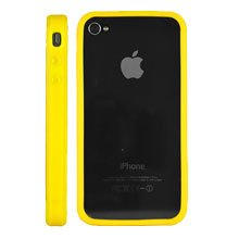 G4GADGET® Iphone 4S/4 Silicon Bumper Yellow