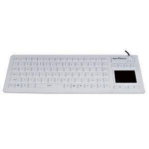 Seal Touch Glow  Medical Grade Silicone All-in-One Keyboard With Touchpad, Led B