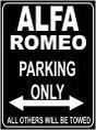 pema-parkplatzschild-parking-only-32x24-cm-alfa-romeo