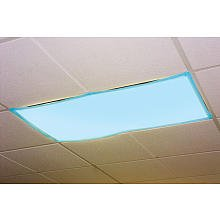 Classroom Light Filters-Tranquil Blue - Set of 4