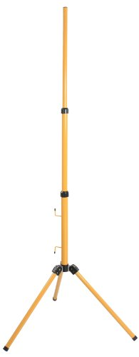 as-Schwabe-Stativ-fr-LED-Strahler-Halogen-Strahler-Baustrahler-usw-Hhenverstellbar-bis-180-m-gelb-46650