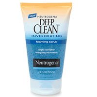 Neutrogena Deep Clean Invigorating Foaming Scrub 4.2 fl oz (125 ml)