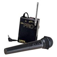 Azden Whx-Pro Hand-Held Microphone System With Built-In Transmitter