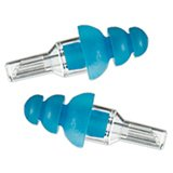 Etymotic Research ER20 ETY-Plugs Hearing Protection Earplugs, Standard Fit, Clear Stem with Blue Tip (Light Blue)