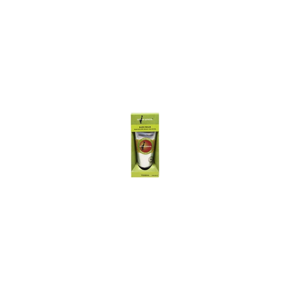 Out of Africa; Out of Africa; Shea Butter Hand Cream Verbena 2.25 oz Cream