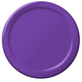 Purple Dessert Plates 24ct