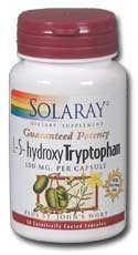 Solaray 5Htp Supplement, 100 Mg, 30 Count