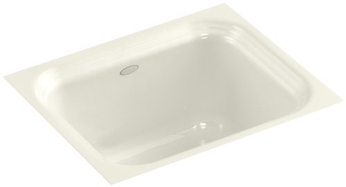 KOHLER K-6589-U-96 Northland Undercounter Entertainment Sink, Biscuit