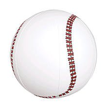 Inflatable Baseballs 1 Pack - 1