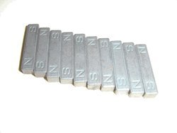 Small Magnet Bars, Case of 1