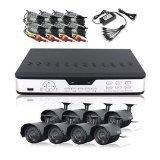 Zmodo Surveillance System with 8 Weatherproof IR Cameras PKD-DK0865-(No Hard Drive)