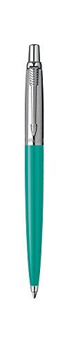 parker-jotter-grey-green-chrome-trim-ballpoint-pen-gift-boxed