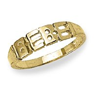 14k Yellow Gold – Baby/Children's Ring
