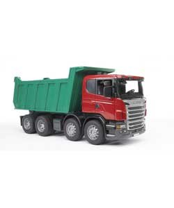 Amazon.com : Bruder 03550 Scania R-Series Tipper Truck. : Baby