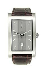 Click for DKNY Embossed Leather Date Grey Dial Men's watch #NY1475