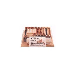 TEDCO Wooden Block & Marble Master Set (Age 4+) from TEDCO