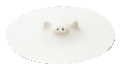 Marna White Piggy Steamer 5-5⁄16