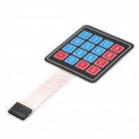 4x4 Matrix 16 Key Membrane Switch Keypad Keyboard