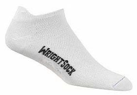 Wrightsock WrightSock Double Layer Coolmesh Tab Sock - 2 Pack, XL, Black