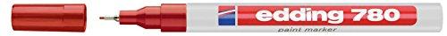 Marcatore permanente 780 Edding rosso 0,8 mm tonda 4780002
