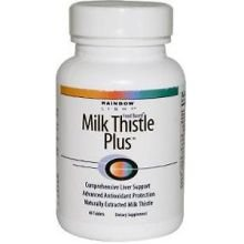 Rainbow Light Milk Thistle Plus Tablet - 60 Per Pack -- 3 Packs Per Case.