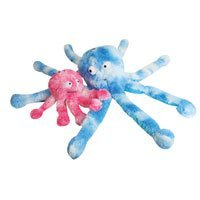 Great China Blue Colored Oscar Octopus Plush Dog Chew Toy