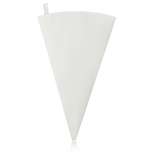 New Star Foodservice 37708 Commercial Grade Plastic Coated Canvas Pastry Bag, 16-Inch