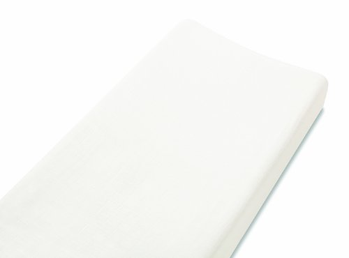 Aden + Anais Rayon From Bamboo Changing Pad Cover, Earthly - White Color: Earthly White Newborn, Kid, Child, Childern, Infant, Baby front-540727