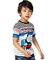 Pure Cotton Thomas & Friends© Striped T-Shirt