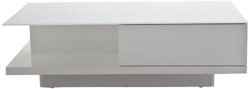 actona company couchtisch clive mit schublade in hochglanz wei preisvergleich wohnen. Black Bedroom Furniture Sets. Home Design Ideas